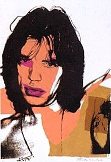 Lithographie Warhol - Mick Jagger 11.141