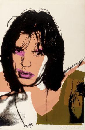 Sérigraphie Warhol - Mick Jagger #141