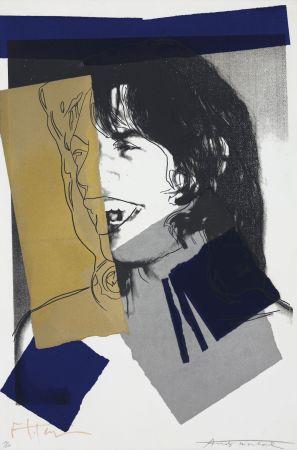 Sérigraphie Warhol - Mick Jagger #142