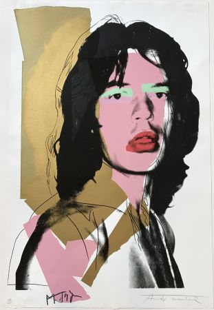 Sérigraphie Warhol - Mick Jagger #143