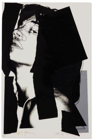 Sérigraphie Warhol - Mick Jagger #144