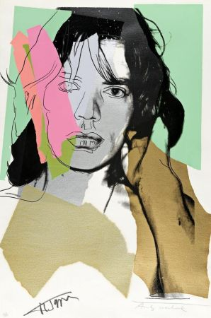 Sérigraphie Warhol - Mick Jagger FS 11.140