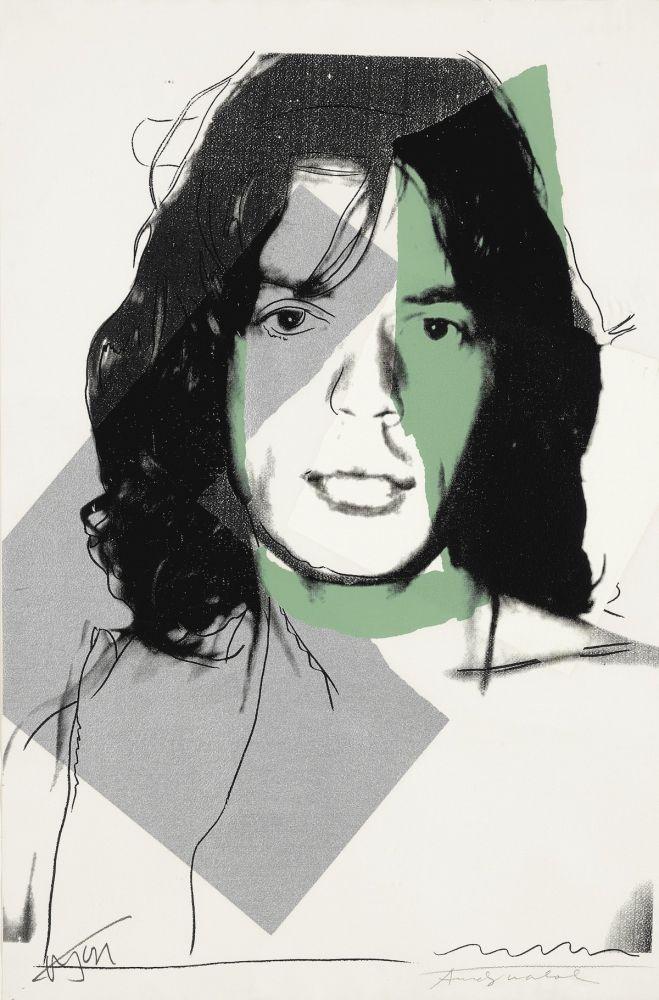 Sérigraphie Warhol - Mick Jagger (FS II.138)