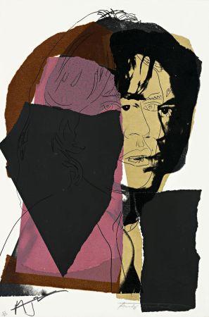 Sérigraphie Warhol - Mick Jagger (FS II.139)