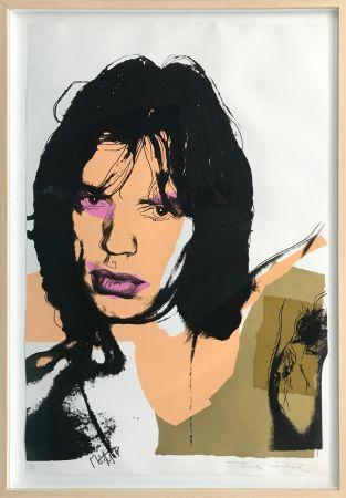 Sérigraphie Warhol - MICK JAGGER FS II.141