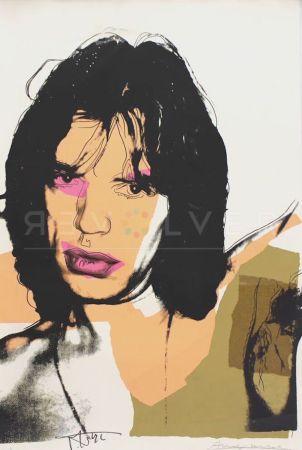 Sérigraphie Warhol - Mick Jagger (FS II.141)