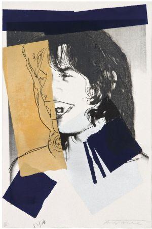 Sérigraphie Warhol - Mick Jagger (FS II.142)