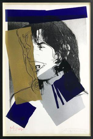 Sérigraphie Warhol - MICK JAGGER FS II.142