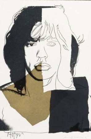 Sérigraphie Warhol - Mick Jagger (FS II.146)