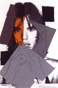 Sérigraphie Warhol - Mick Jagger II.147