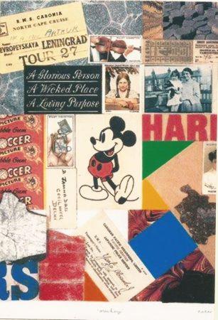 Sérigraphie Blake - Mickey