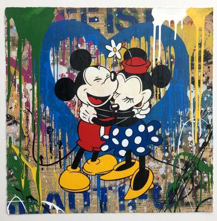 Multiple Mr Brainwash - Mickey & Minnie
