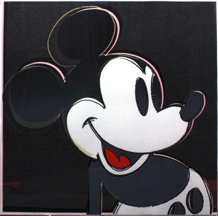 Sérigraphie Warhol - Mickey Mouse (FS II.265)