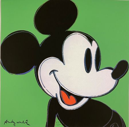 Offset Warhol - Mickey Mouse (Green)
