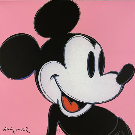 Offset Warhol - Mickey Mouse (Pink)