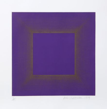 Aquatinte Anuszkiewicz - Midnight Suite (Purple with Silver)