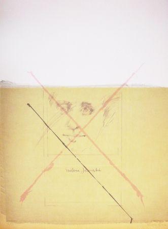 Lithographie Bru - Milena