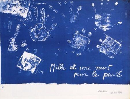 Lithographie Cremonini - Mille et une nuits pour le pavé