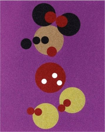 Sérigraphie Hirst - Minnie Mouse Glitter Print by Damien Hirst