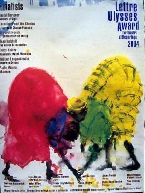 Affiche Barcelo - Miquel Barceló Lettre Ulysses Award