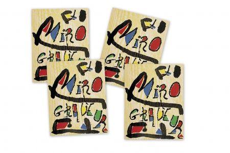Livre Illustré Miró - MIRÓ GRABADOR - 4 VOL. (1928 - 1983) Catalogue raisonné engravings of Joan Miró