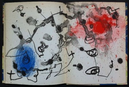 Lithographie Miró - Mirò 1959-1960