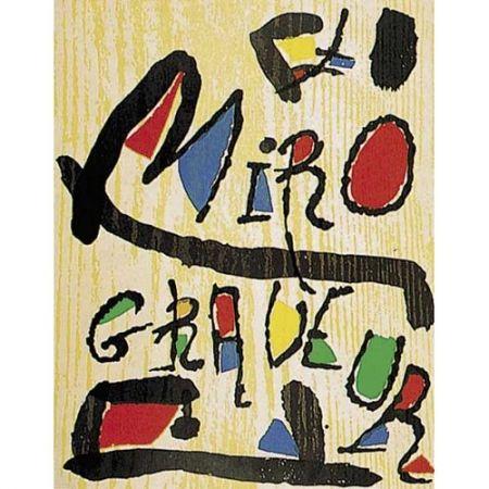 Livre Illustré Miró - Miró Engraver. Vol. IV