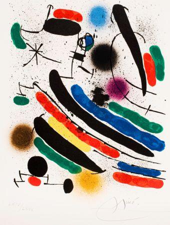 Aucune Technique Miró - Miró lithographe I (Maeght 856)
