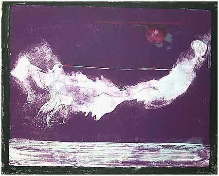 Lithographie Frankenthaler - Mirabelle (1985-90)