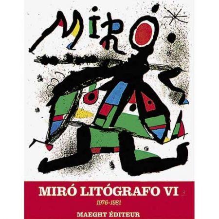 Livre Illustré Miró - MIRO LITHOGRAPH VI