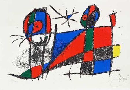 Lithographie Miró - Miro lithographe