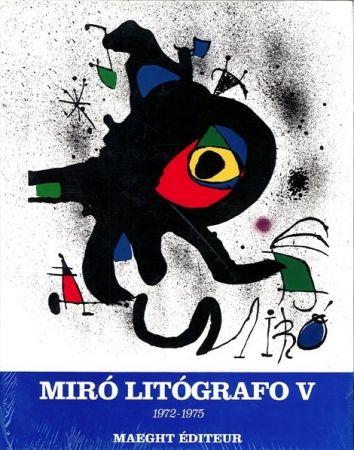 Livre Illustré Miró - MIRO LITHOGRAPHE V
