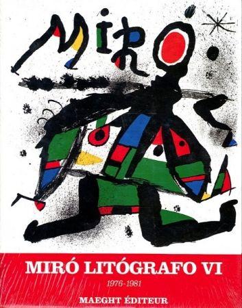 Livre Illustré Miró - MIRO LITHOGRAPHE VI