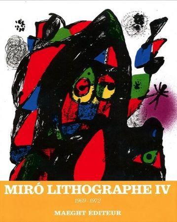 Aucune Technique Miró - MIRO LITOGRAFO IV