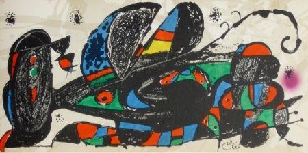 Lithographie Miró - Miro sculpteur, Iran