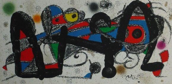 Lithographie Miró - Miro sculpteur, Portugal