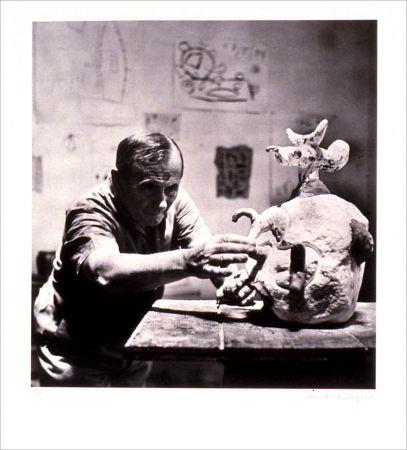 Lithographie Scheidegger - Miro traces d' une rencontre