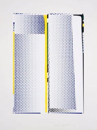 Sérigraphie Lichtenstein - Mirror #9