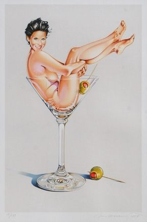Lithographie Ramos - Miss Martini Ii
