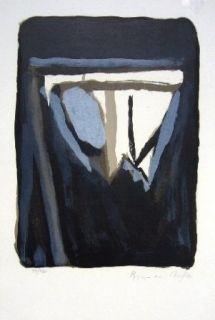 Lithographie Van Velde - MMP 112