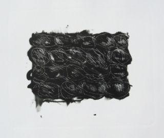 Lithographie Kounellis - MOD 3