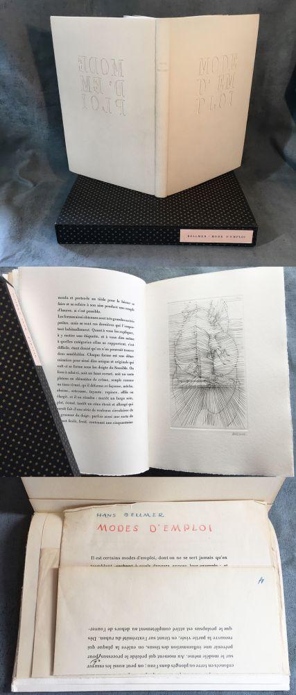 Livre Illustré Bellmer - MODE D'EMPLOI. 1967.