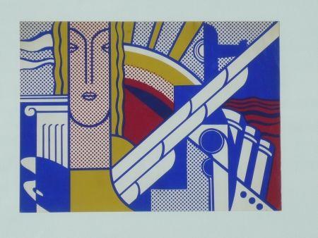 Sérigraphie Lichtenstein - Modern Art Poster,1967