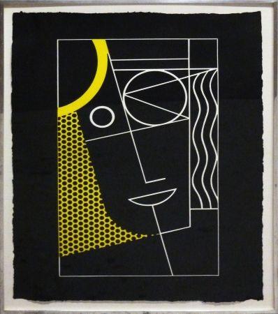 Gravure Lichtenstein - Modern Head #2