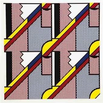 Sérigraphie Lichtenstein - Modern Print