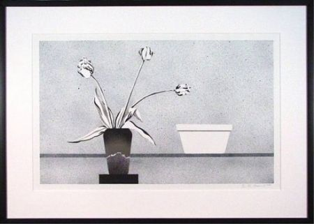Lithographie Baynard - Modern Still Life