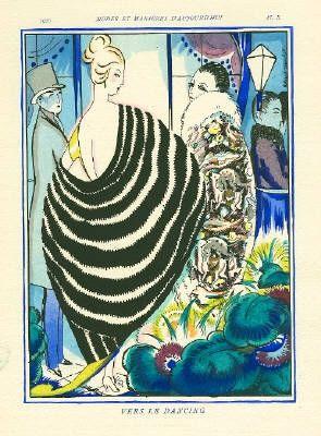 Livre Illustré Bonfils - MODES ET MANIÈRES D'AUJOURD' HUI. Neuvième Année. 1920