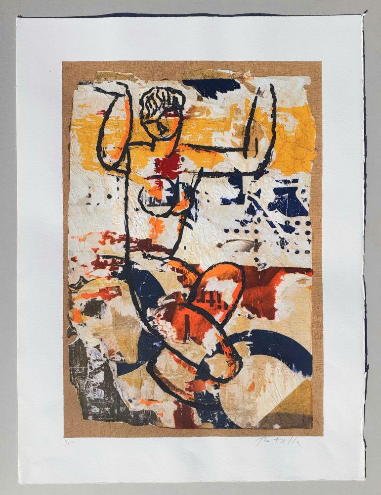 Sérigraphie Rotella - Modigliani