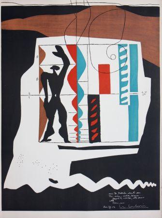 Lithographie Le Corbusier - Modulor