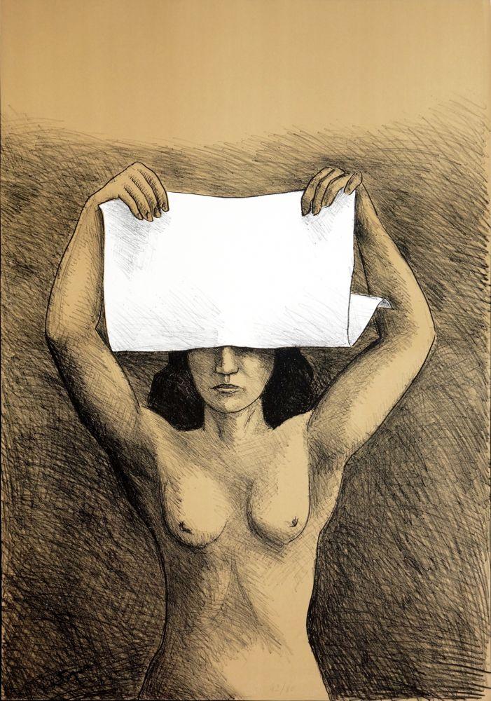 Lithographie Topor - Mois de l'estampe